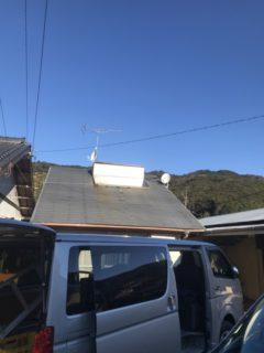 太陽熱温水器交換工事