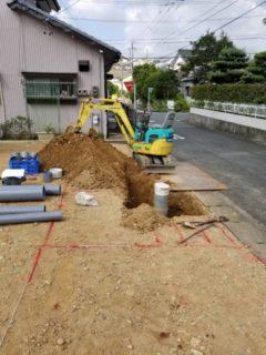 下水道配管の切り回し工事を施工事例に追加!~株式会社ケイエム設備~