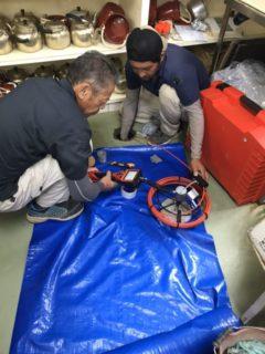 排水管の詰まり修繕調査を施工実績に追加しました!!