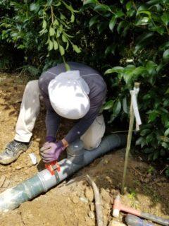 浄化槽汚水管の修繕工事をご紹介!!【施工実績に追加】